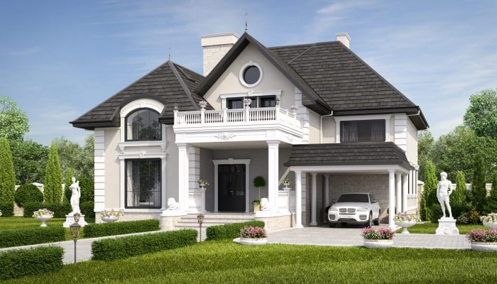 Дом в классическом стиле - день-Р2