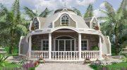 Купольный дом в классическом варианте